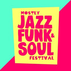 Mostly Jazz Funk And Soul 2019 Logo