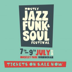 Mostly Jazz Funk and Soul Festival Logo