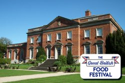The Great British Food Festival at Kelmarsh Hall Logo