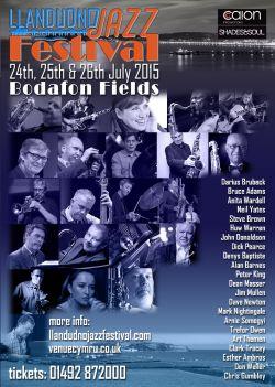 Llandudno Jazz Festival 2015 logo