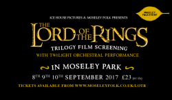 The Lord of the Rings Trilogy Film Screening logo