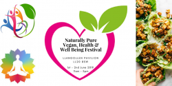 Naturally Pure Vegan, Health And Well Being Festival Logo