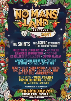 No Man's Land Festival 2017 Logo