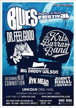 Lincoln Blues, Rhythm & Rock Festival  Logo