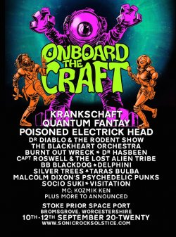 ONBOARD THE CRAFT 2020 logo