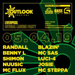 Outlook Festival Liverpool Launch Party logo