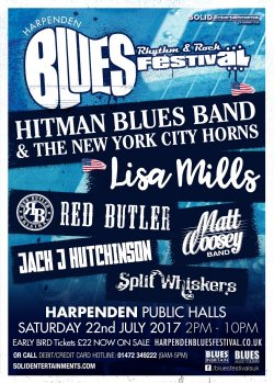 Harpenden Blues, Rhythm And Rock Festival logo