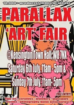 Parallax Art Fair 26th Edition in July 2019 Logo