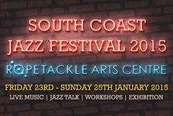 South Coast Jazz Festival 2015 logo