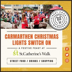 Carmarthen Christmas Lights - A Festive Feast logo