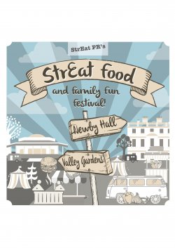 The StrEat Food and Family Fun Festival logo