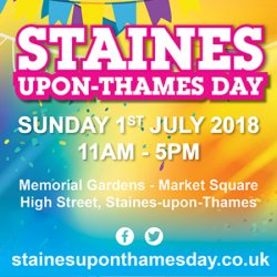 Staines-upon-Thames Day Logo