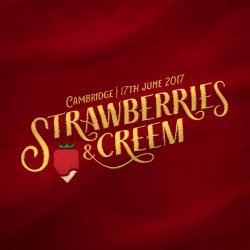 Strawberries And Creem Festival. logo