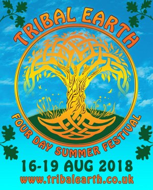 Tribal Earth Summer Festival Logo