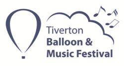 Tiverton Balloon and Music Festival logo