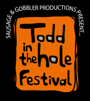 Todd in the Hole Festival logo