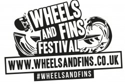 Wheels and Fins Festival logo