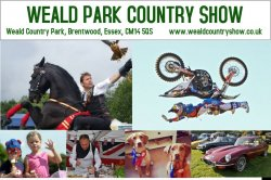 The Weald Park Country Show 2019. Logo