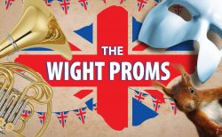 The Wight Proms logo