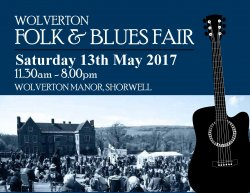 Wolverton Folk And Blues Festival logo