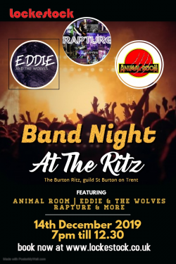 Band Night at The Ritz logo