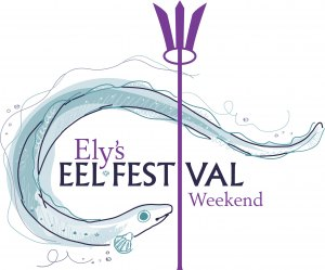 Ely's Food & Drink Festival (Eel Festival) 30th-1st May '17 Logo
