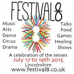 Festival 8 logo
