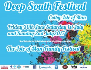 Deep South Festival isle of man Logo