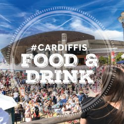 Cardiff International Food and Drink Festival  logo