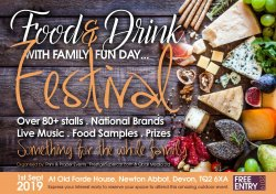 Food and Drink family fun day  Logo