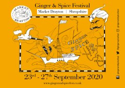 The Ginger and Spice Festival logo