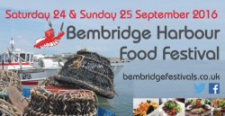 Bembridge Harbour Food Festival Logo