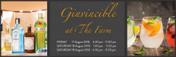 Ginvincible at The Farm logo