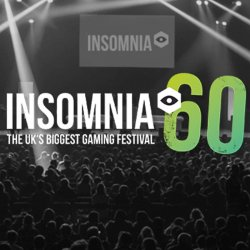 Insomnia60 the UKs Biggest Gaming Festival Logo