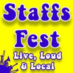Staffs fest - Live, Loud And Local logo