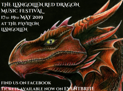 The Llangollen Red Dragon Music Festival logo