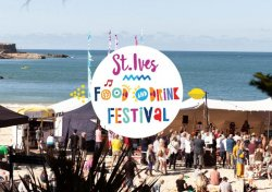 St Ives Food and Drink Festival Logo