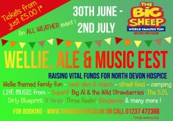 North Devon Wellie, Ale And Music Festival logo