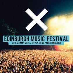 X Music Festival Edinburgh logo