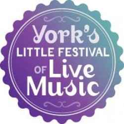 York's Little Festival of Live Music Logo