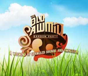 The Old Saw Mill Garden Party Logo